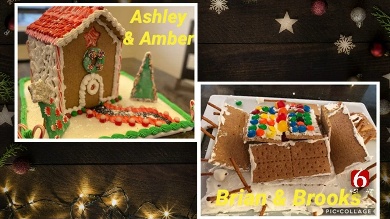 WATCH: Winners Of Gingerbread House Contest Revealed