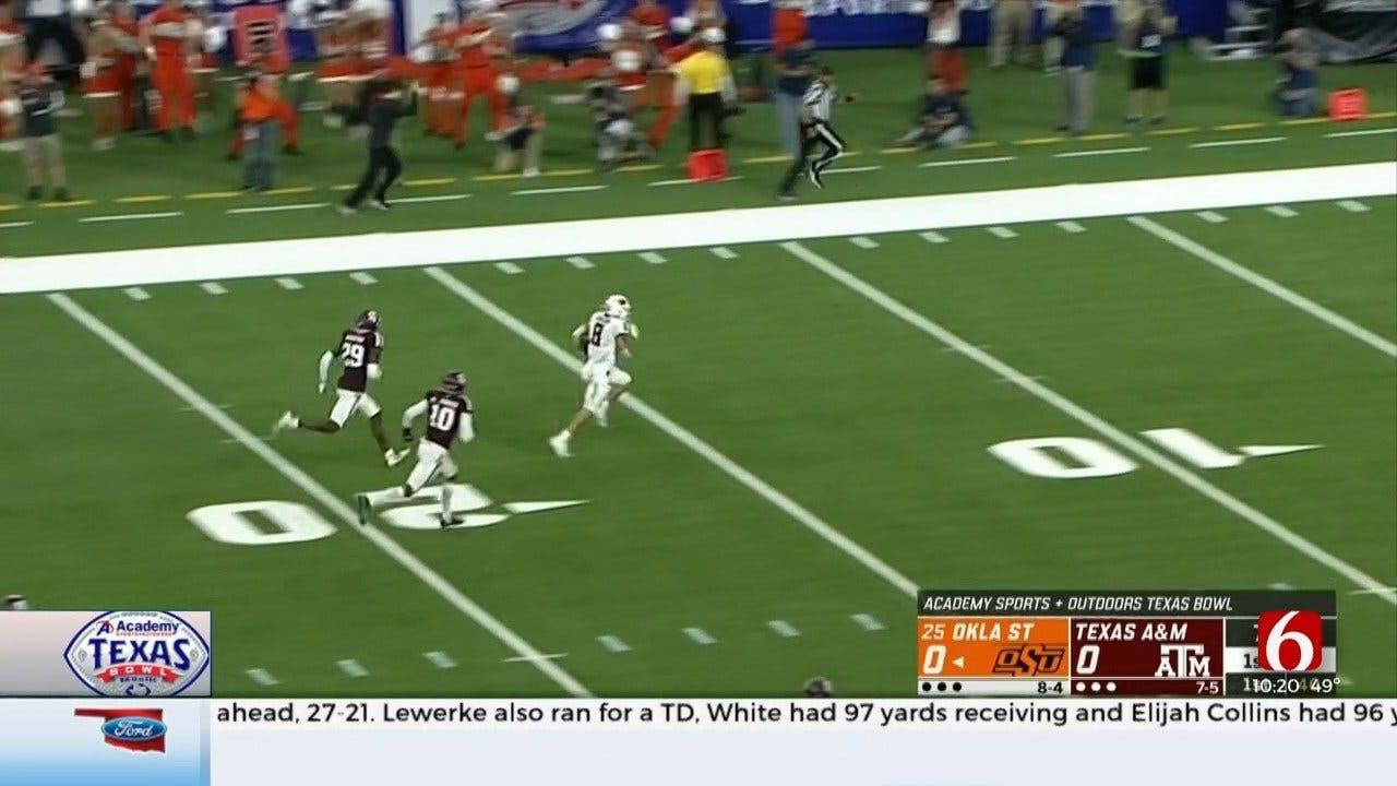 OSU Falls To Texas Aggies 24-21 In Texas Bowl