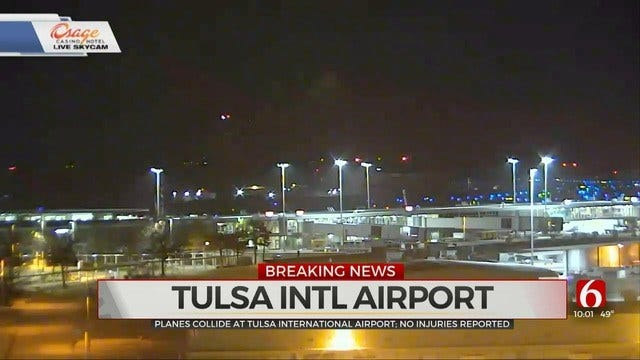 American Airlines, Allegiant Aircraft Collide On The Ground At Tulsa Airport