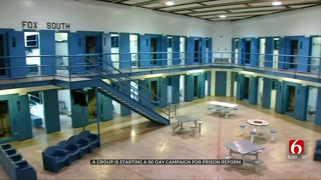 Oklahoma Group Seeks Prison Sentence Reform With State Question 805
