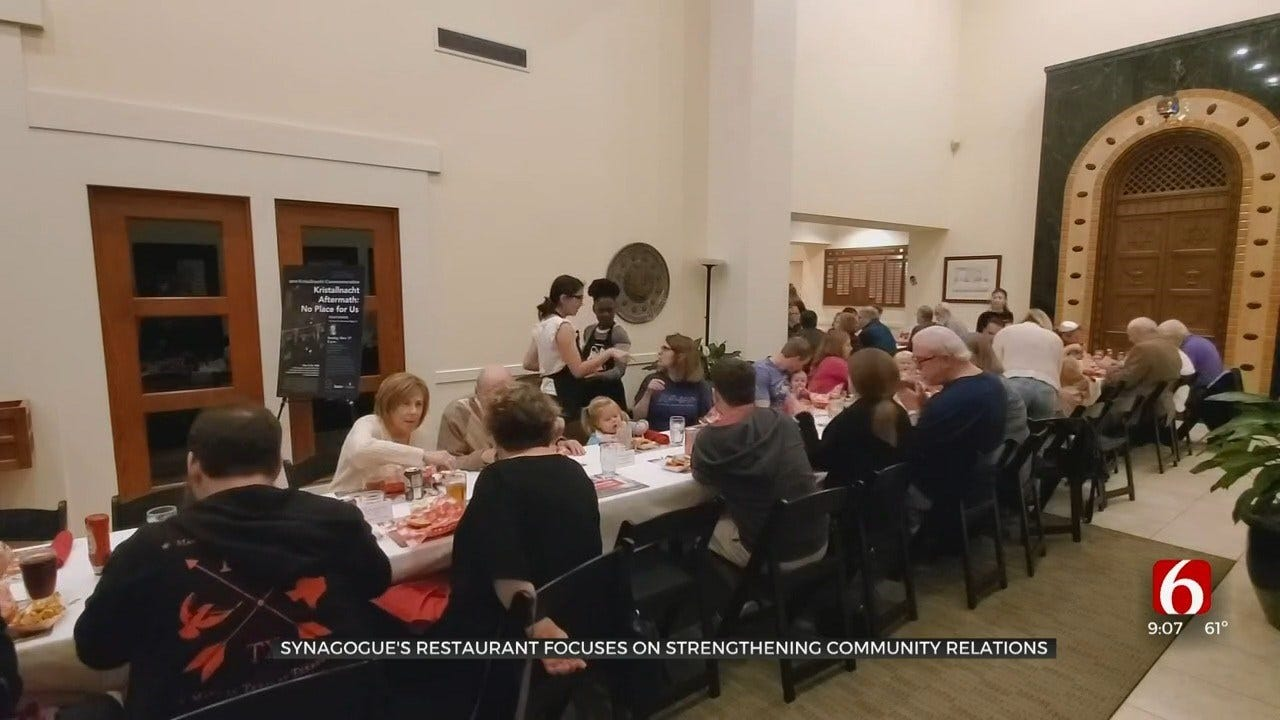 Synagogue's Restaurant Focuses On Strengthening Community Relations