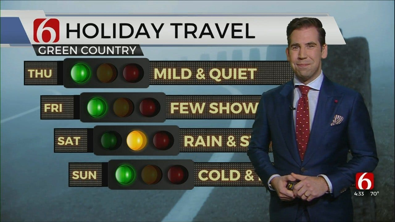 Christmas Holiday Travel With Mike Grogan
