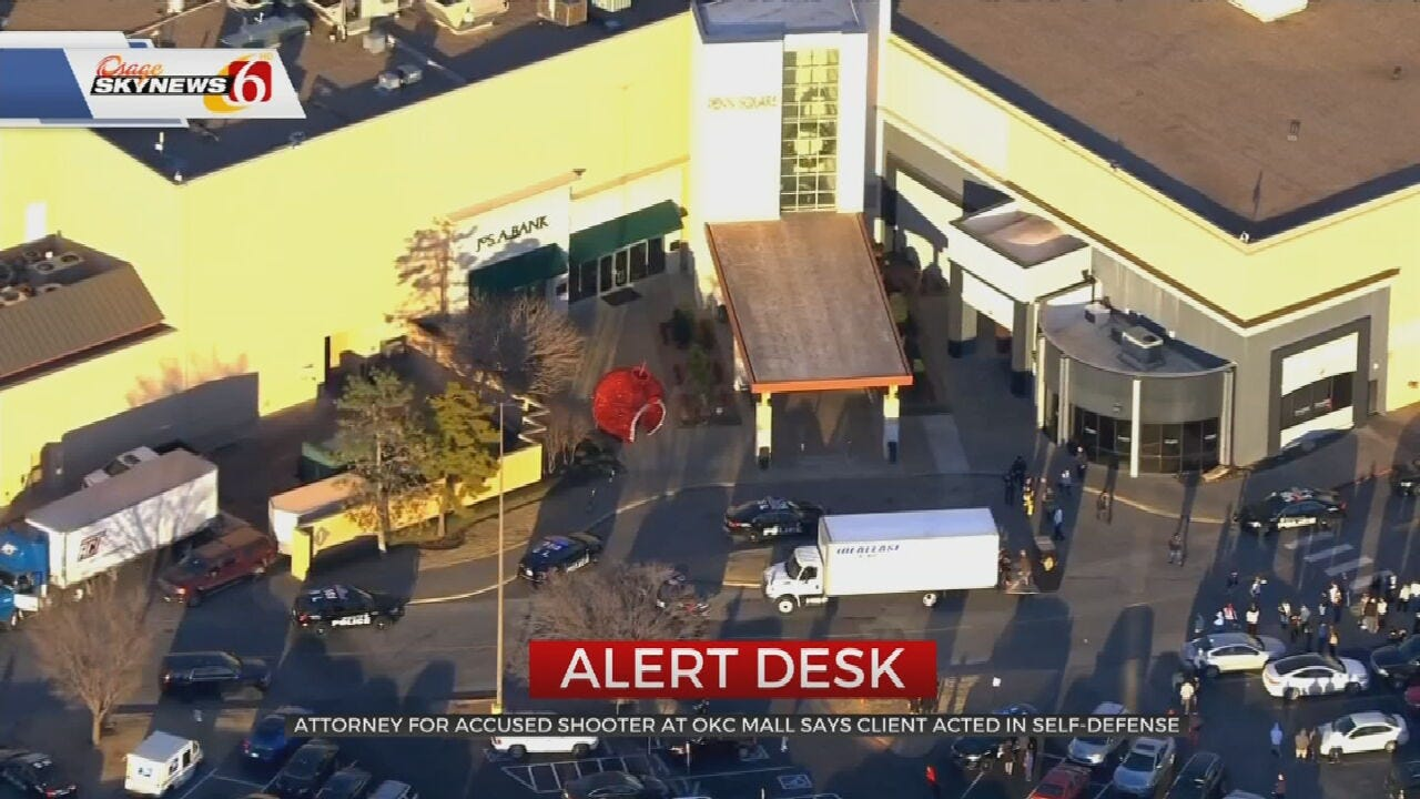 Man Accused Of Shooting At OKC Mall Claiming Self-Defense