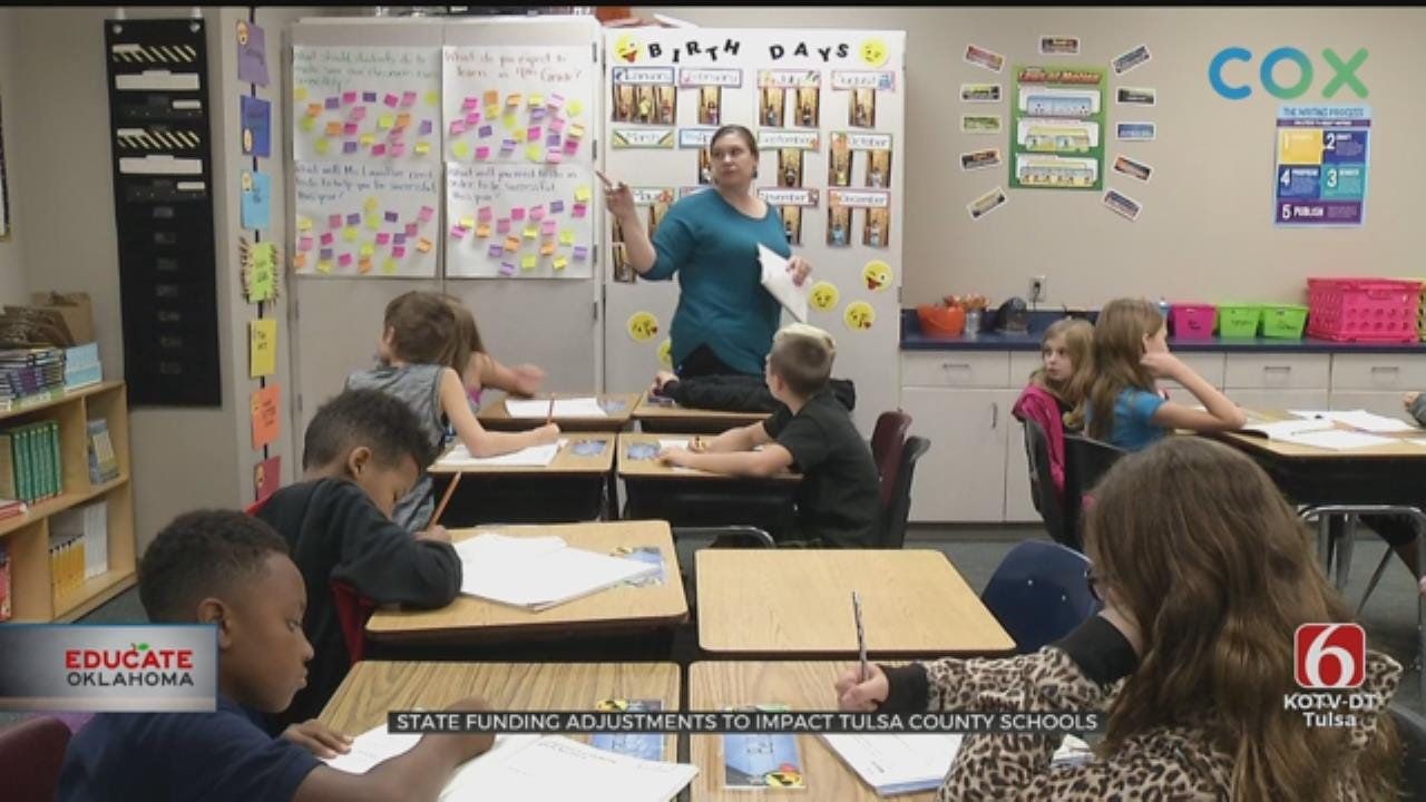 State Funding Adjustments To Impact Tulsa County Schools