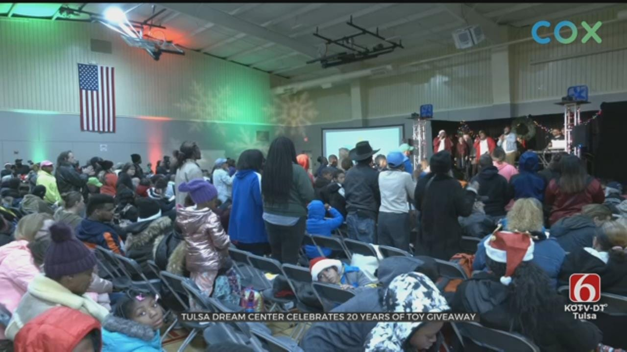 Tulsa Dream Center Celebrates 20 Years Of Toy Giveaways