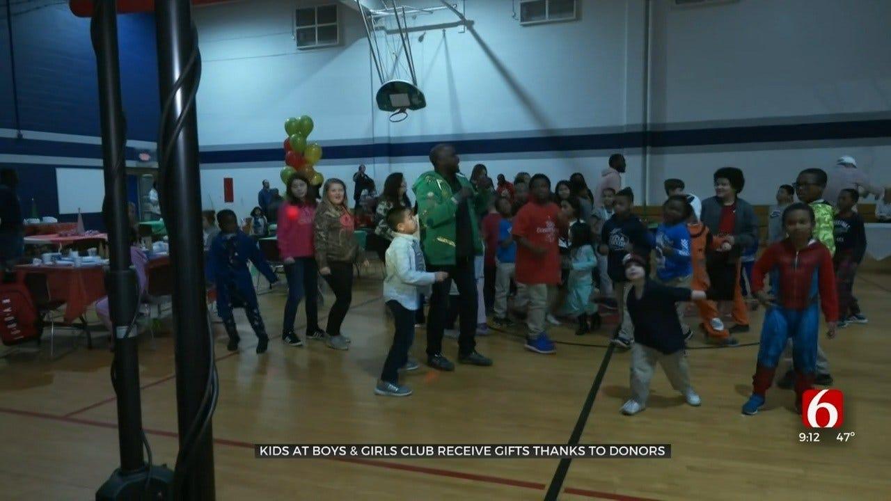 Community Helps Tulsa Boys and Girls Club Have Memorable Christmas