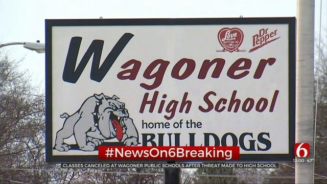 Wagoner Cancels School After Social Media Shooting Threat