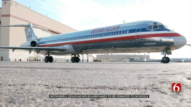 American Airlines Donates The Last Of Its MD-80 Aircraft