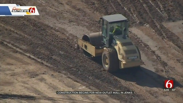 Construction Begins For Tulsa Premium Outlets Mall