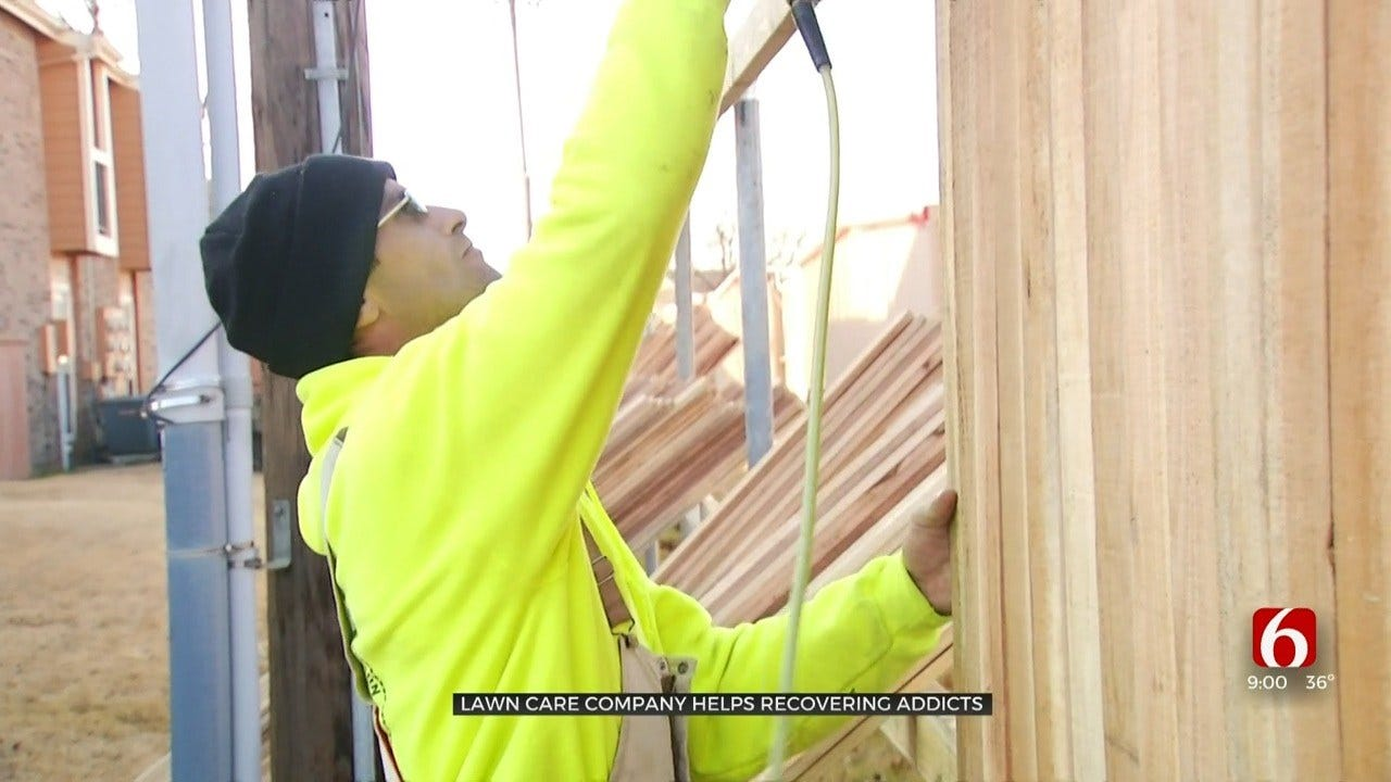 Oklahoma Company Gives Second Chances By Employing Recovering Addicts