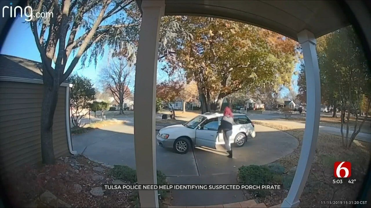 Dressed To Steal: Tulsa Porch Pirate Wears Costume