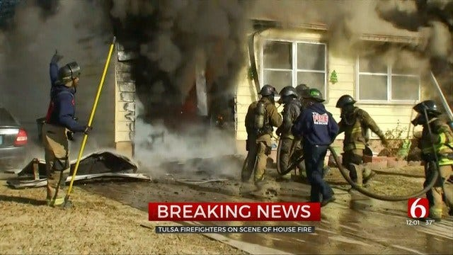 Tulsa Woman Loses Home, Pets To Fire Just Before Christmas