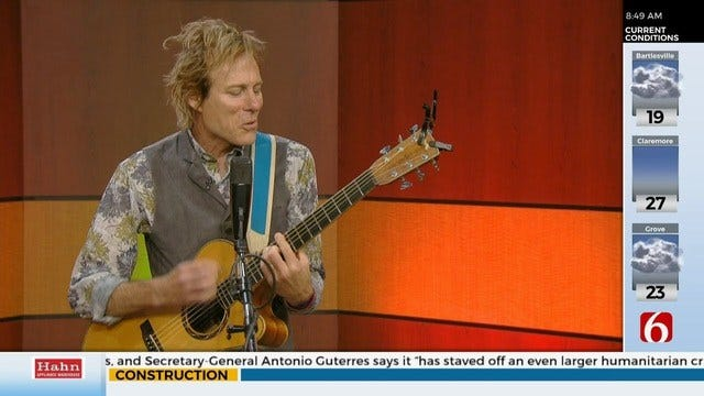 Peter Mayer, Lead Guitarist For Jimmy Buffett, Stops By News On 6