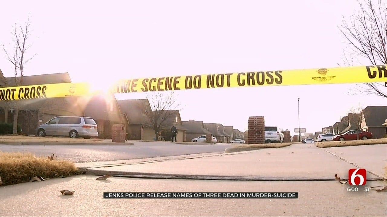 Names Released Of 3 Dead In Apparent Murder-Suicide In Jenks