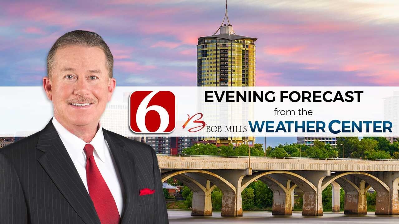 Monday Evening Forecast With Travis Meyer