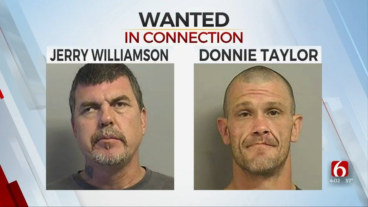 Sheriff's Office: United Aryan Brotherhood Members Sought In Death Of Tulsa Man