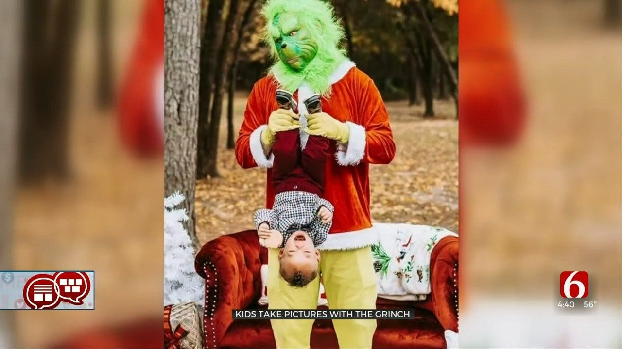 Something To Talk About: Grinch Pictures