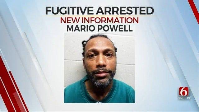 Police: Alabama Fugitive Arrested In Ramona, OK