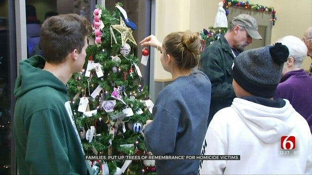 Tulsa County Tree Of Remembrance Ceremony Pays Tribute To Violent Crime Victims
