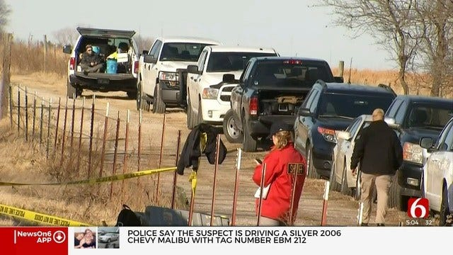 Day 2: FBI, Rogers County Sheriff's Office Continue Search For Possible 2013 Homicide Victim