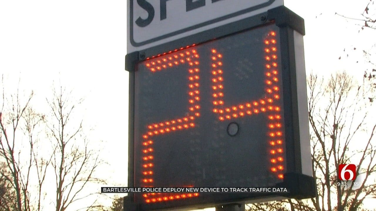 Bartlesville Police Use New Device To Track Speeding Areas