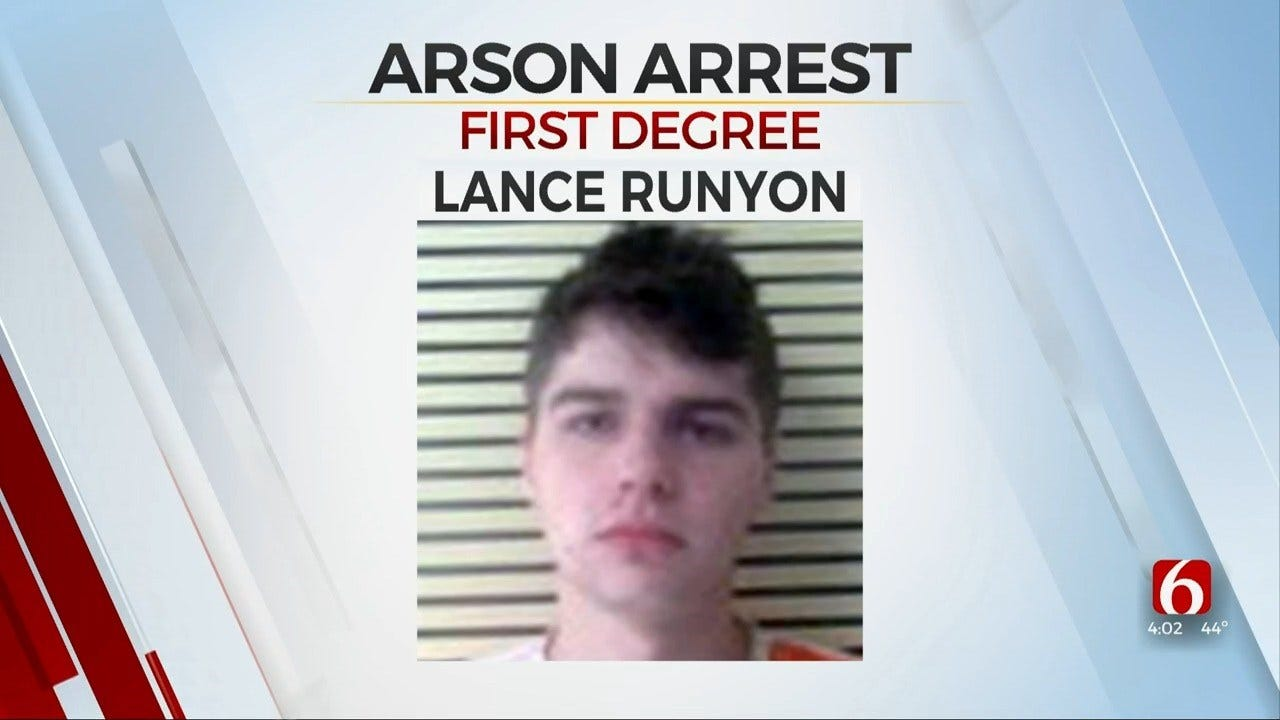 Flat Tire Leads To Arrest Of Bixby Man Suspected Of Arson