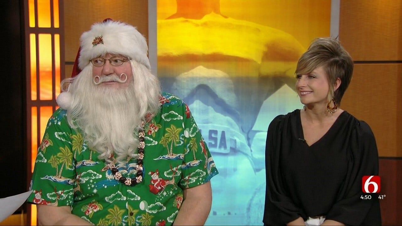 Margaritaville Hosts Breakfast With Santa