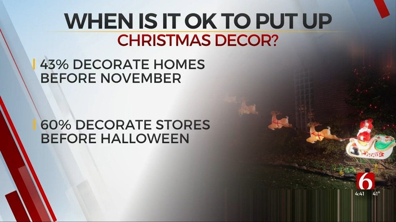 Something To Talk About: When To Hang Christmas Lights