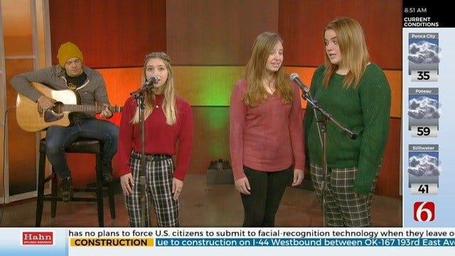 Singers From Tulsa's Preslar Music Perform 'O Holy Night'