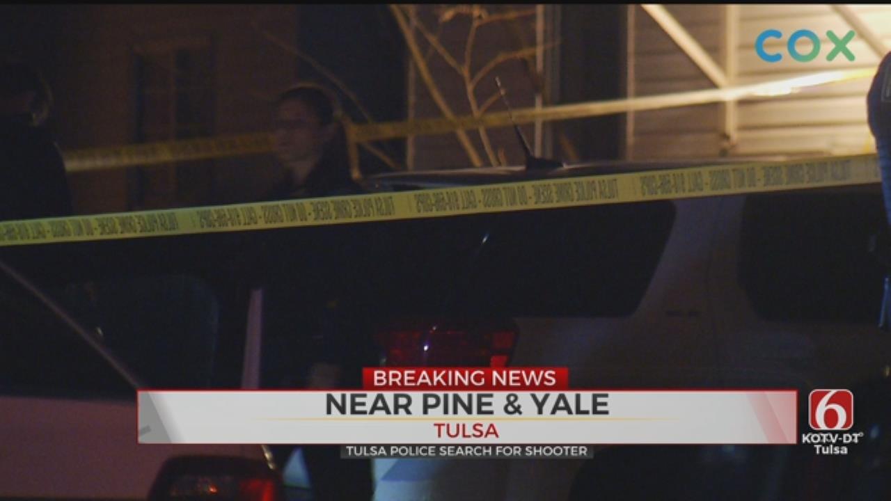 Tulsa PD: 1 Victim Shot, 2 Suspects Wanted