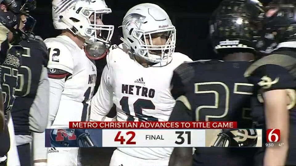 Metro Heads To First Ever State Championship Game