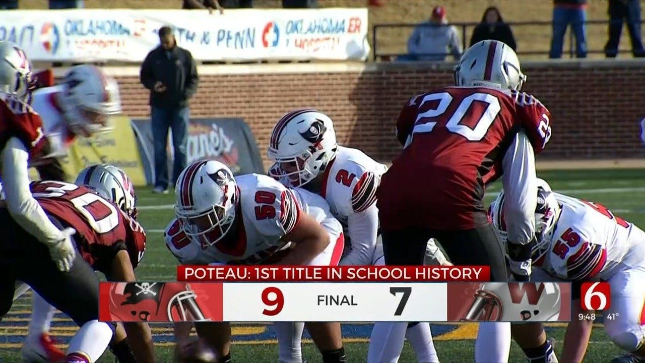 Poteau Wins First State Title