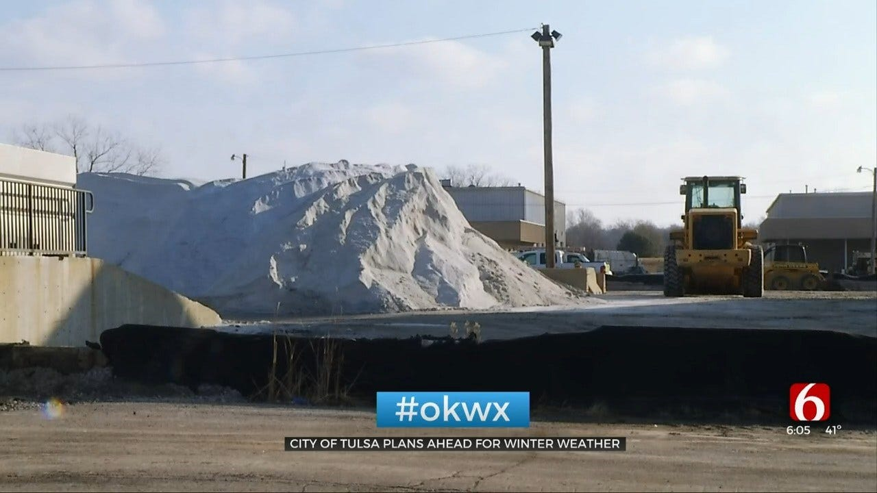 City Of Tulsa Says They Are Prepared For Winter Weather Response