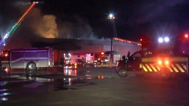 UPDATE: 1 Dead After Tulsa Church Building Fire