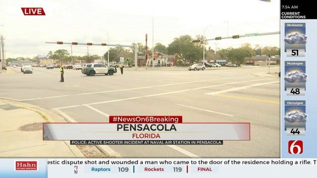 Active Shooter Situation At NAS Pensacola