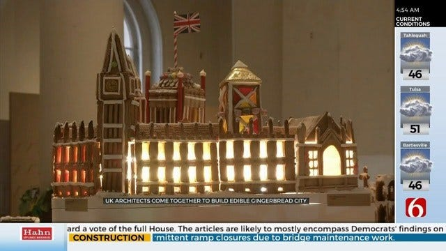 UK Architects Create Edible Gingerbread City