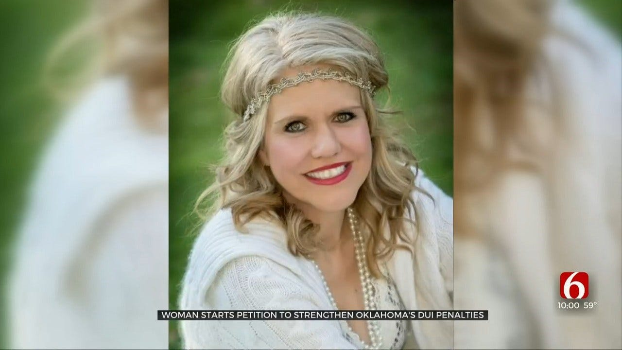 Oklahoma Woman Wants Changes To DUI Laws After Friend Was Killed By Drunk Driver