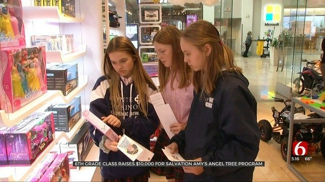 Monte Cassino Students Raise More Than $10K For Salvation Army Angels