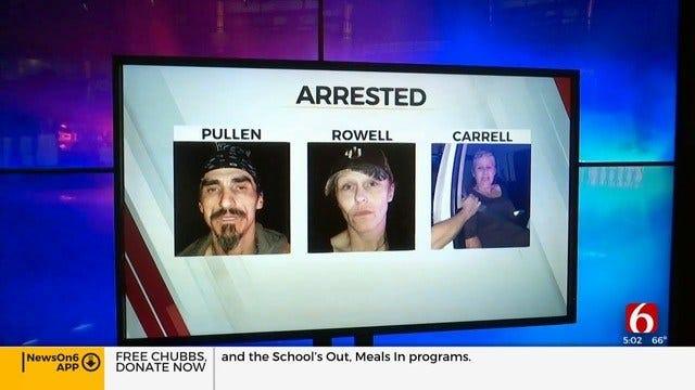 Haskell County Deputies Arrest 3 In Stolen Suburban