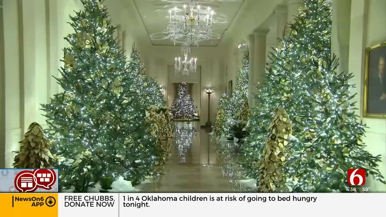 Something To Talk About: The White House Christmas Decorations
