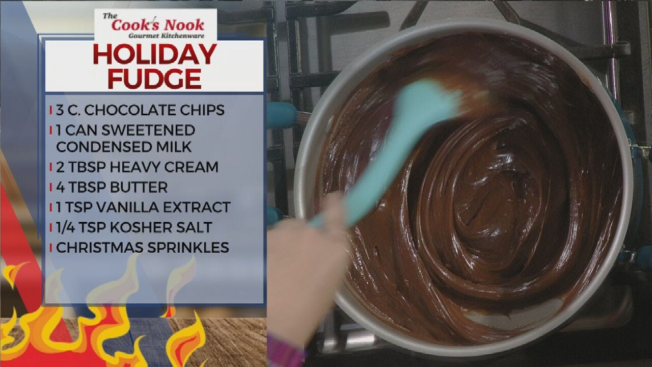 Amber & Brooks In The Kitchen: Holiday Fudge