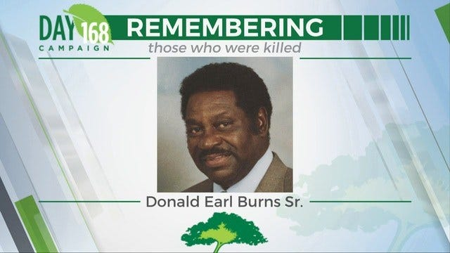 168 Days Campaign: Donald Earl Burns, Sr.