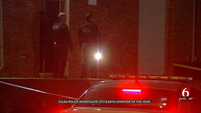 Tulsa Police Say Fatal Shooting At Apartment Complex Was Self-Defense