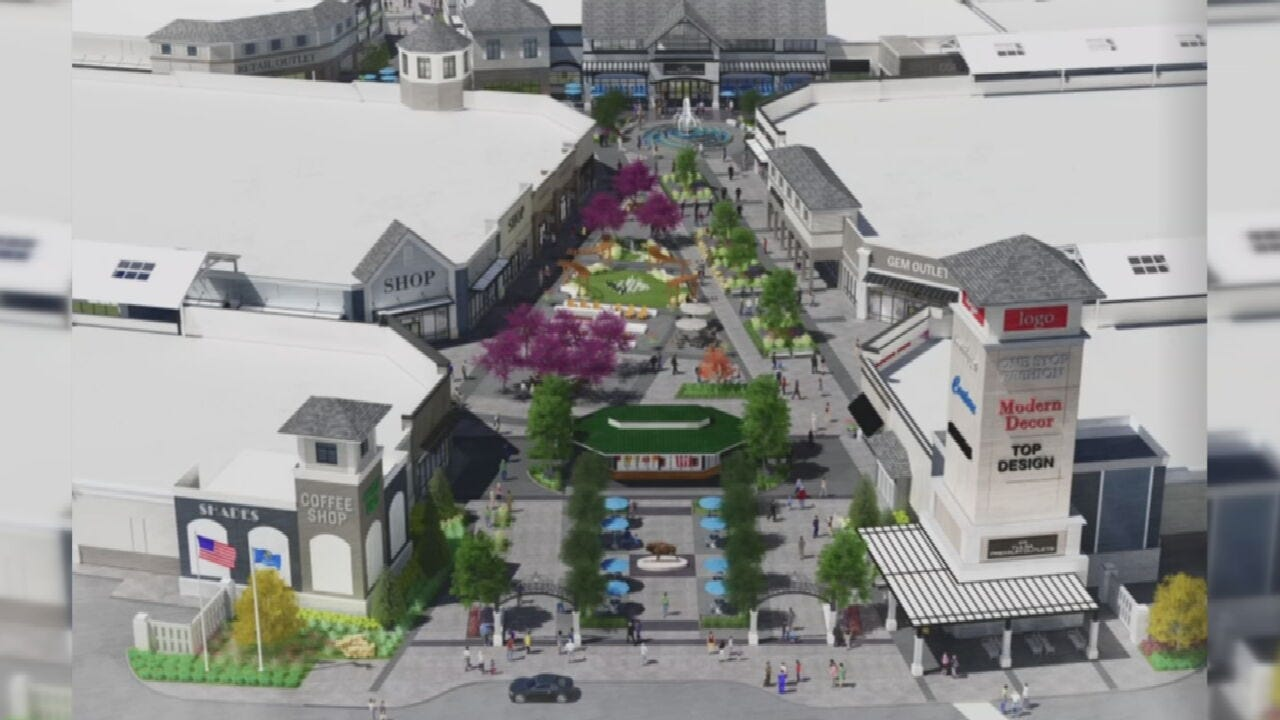 Plans Coming Together For Tulsa Premium Outlets In Jenks