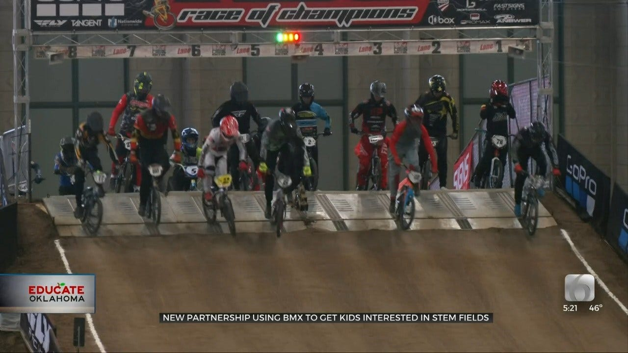 BMX Racing Helps Oklahoma Students Learn STEM Curriculum