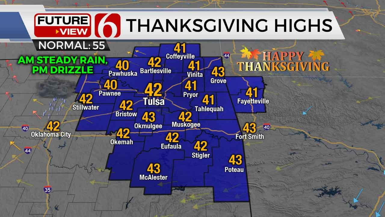 Thanksgiving Forecast With Stephen Nehrenz
