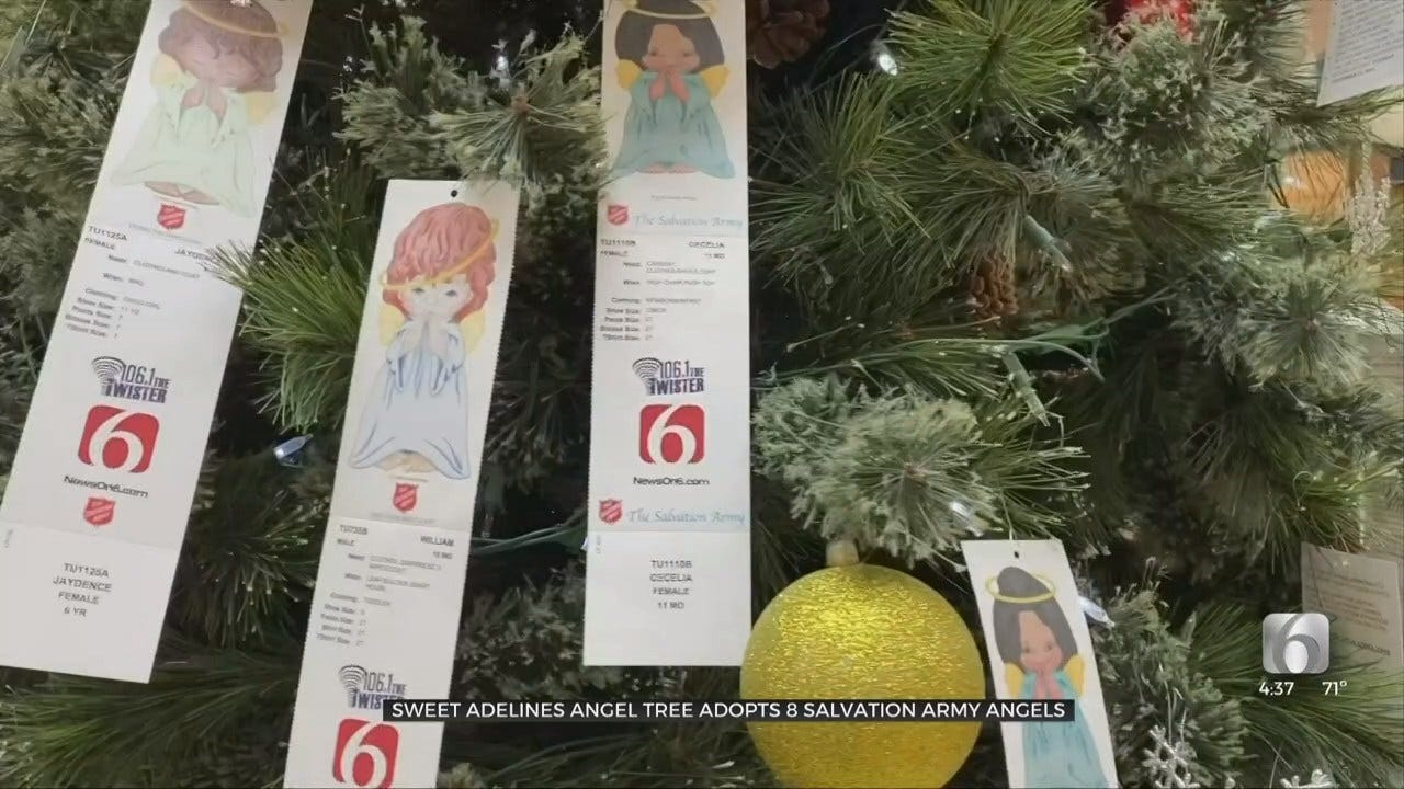 Sweet Adelines Adopt Angels From Tulsa Salvation Army's Angel Tree