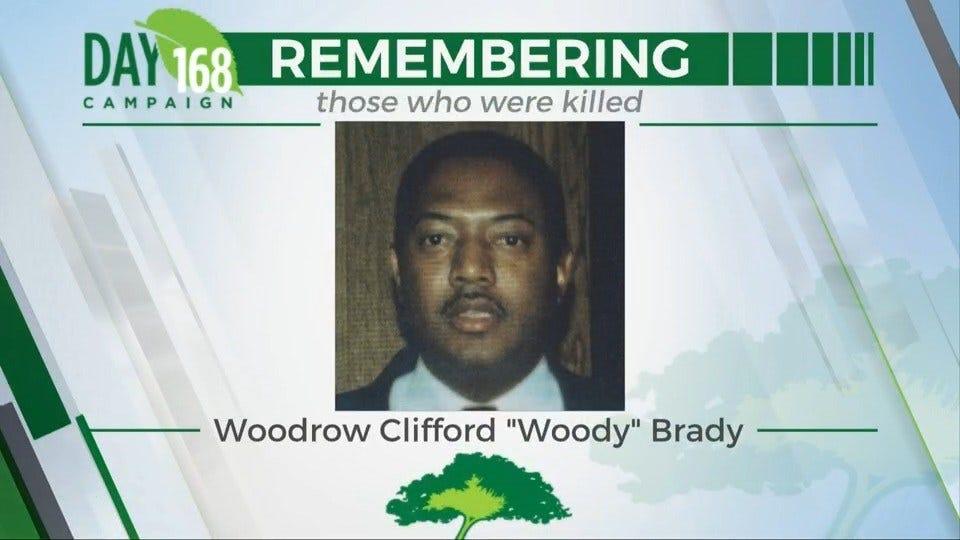 168 Days Campaign: Woodrow Clifford 'Woody' Brady