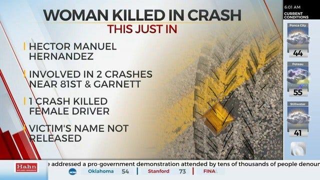 1 Dead After Broken Arrow Crash, Police Say