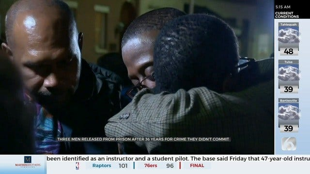 3 Baltimore Men Exonerated After Serving 36 Years In Prison For Teen's Murder